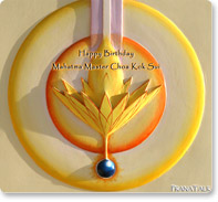 Happy Birthday GrandMaster Choa Kok Sui